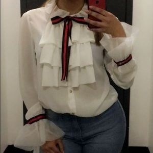 Gucci look alike blouse
